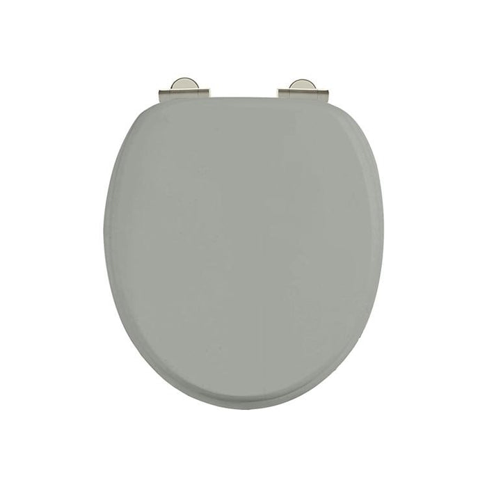 Burlington Traditional Soft Close Toilet Seat Additional View 1
