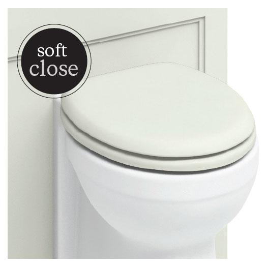 Burlington Traditional Soft Close Toilet Seat - S43
