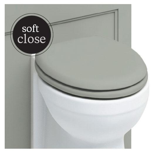 Burlington Traditional Soft Close Toilet Seat - S44