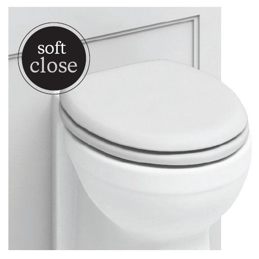 Burlington Traditional Soft Close Toilet Seat - S45