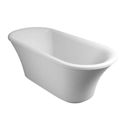 Burlington Traditional White Brindley Soaking Tub - Unbeatable Bathrooms