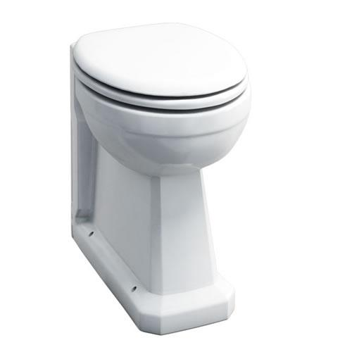 Burlington Traditional White Regal Back To Wall Pan - Unbeatable Bathrooms