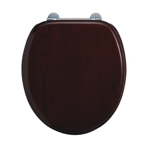 Burlington Traditional Wooden Toilet Seat - S12
