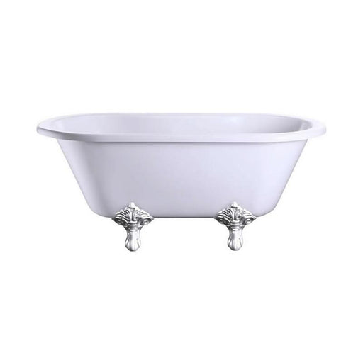 Burlington Windsor Double Ended Bath Tub - E4+E11 CHR