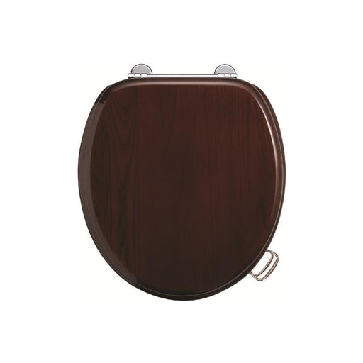 Burlington Wooden Toilet Seat - S12+A51 CHR