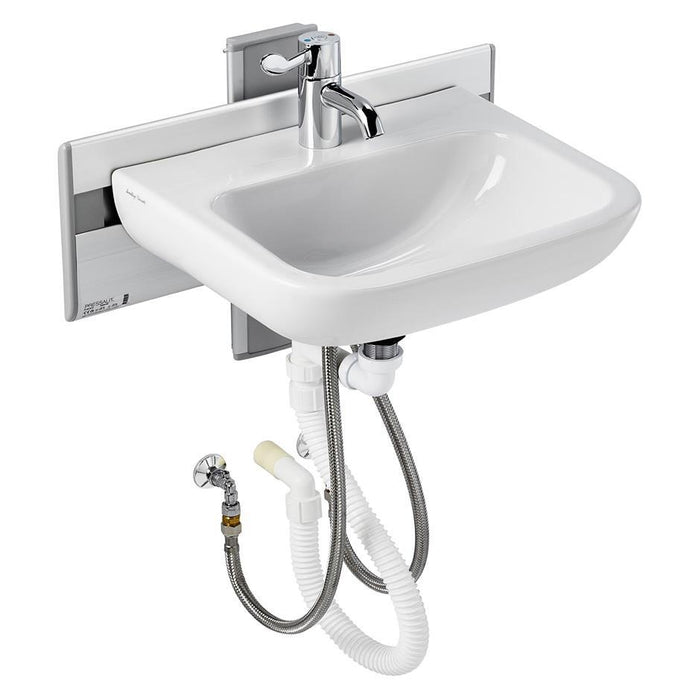 Armitage Shanks Care Plus Washbasin Mounting Bracket, Manually Operated, Vertical Adjustment - Unbeatable Bathrooms