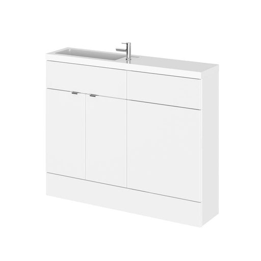 Hudson Reed Fusion Combination - Compact Vanity Unit - Unbeatable Bathrooms