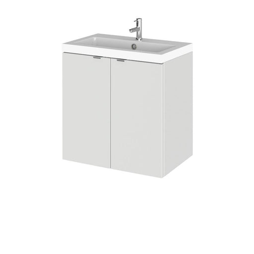 Hudson Reed Fusion Wall Hung Full Depth Vanity Unit & Polymarble Basin - Unbeatable Bathrooms