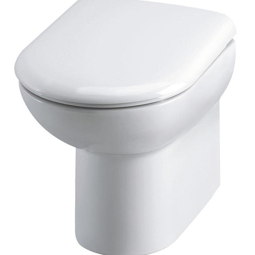 Hudson Reed Linton Back To Wall Pan and Seat - Unbeatable Bathrooms