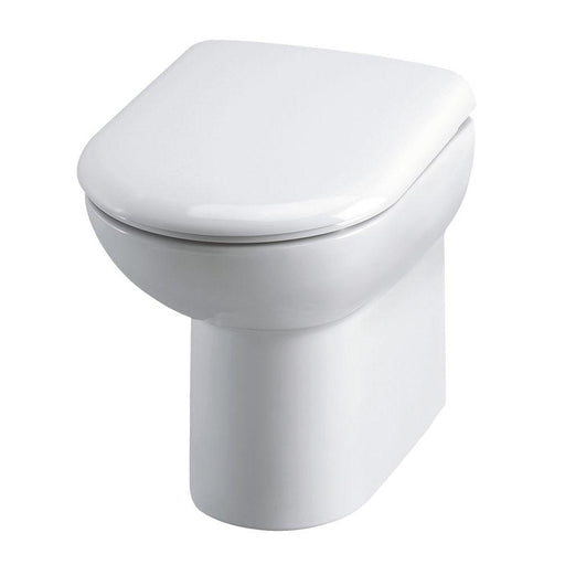 Hudson Reed Furniture Ceramics Comfort Height Back To Wall Pan & Seat - Unbeatable Bathrooms