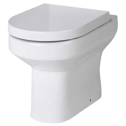 Hudson Reed Harmony Back To Wall Pan & Seat - Unbeatable Bathrooms