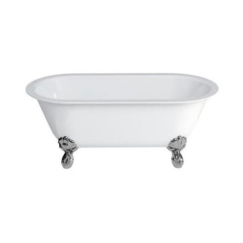 Clearwater Classico Grande Clear Stone White Bath - Unbeatable Bathrooms