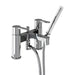 Clearwater Crystal Bath Chrome plated Shower Mixer - Unbeatable Bathrooms