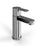 Clearwater Crystal Chrome plated Basin Mixer Without Waste - Unbeatable Bathrooms