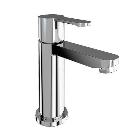 Clearwater Crystal Mini Chrome plated Basin Mixer Without Waste - Unbeatable Bathrooms