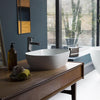Clearwater Formoso Clear Stone White Basin - Unbeatable Bathrooms
