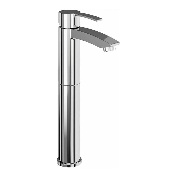 Clearwater Sapphire Chrome plated Tall Basin Mixer Without Waste - Unbeatable Bathrooms