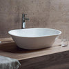 Clearwater Sontuoso Natural Stone White Basin - Unbeatable Bathrooms