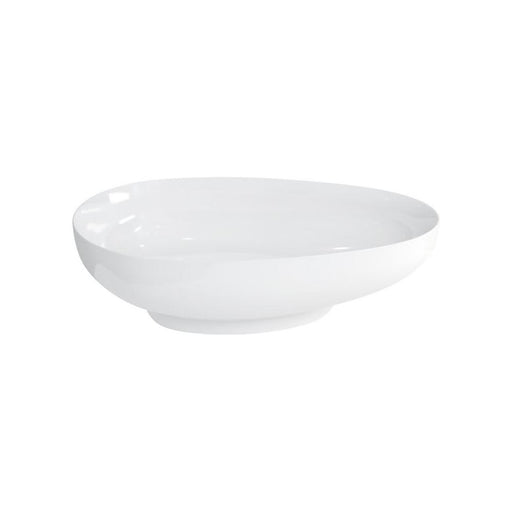 Clearwater Teardrop Clear Stone White Basin Additional View 1