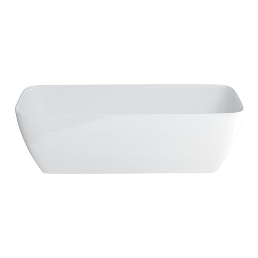 Clearwater Vicenza Grande Clear Stone White Bath Additional View 1