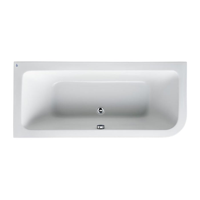 Ideal Standard Concept 170 x 75cm Asymmetric Idealform Bath - Unbeatable Bathrooms
