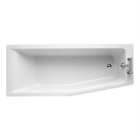 Ideal Standard Concept 170cm x 70cm Idealform Spacemaker shower bath - Unbeatable Bathrooms