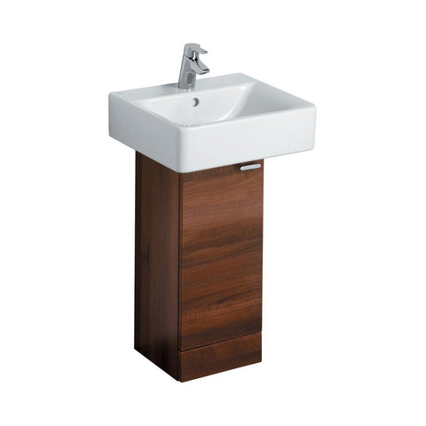 Ideal Standard Concept 300 x 300mm full pedestal washbasin unit with 1 door - Unbeatable Bathrooms
