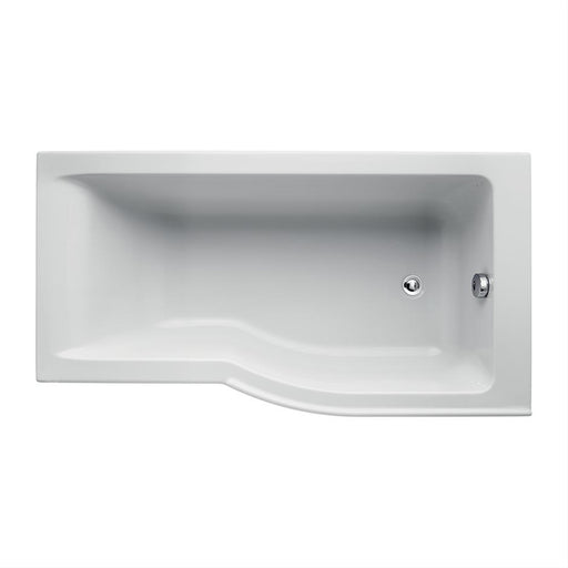 Ideal Standard Concept Air 150 x 80cm Idealform plus+ shower bath right hand with no taphole - Unbeatable Bathrooms