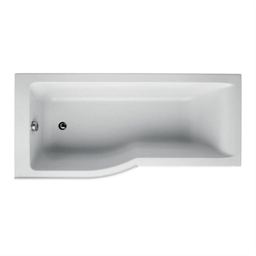 Ideal Standard Concept Air 170 x 80cm Idealform Plus+ Shower Baths - Unbeatable Bathrooms