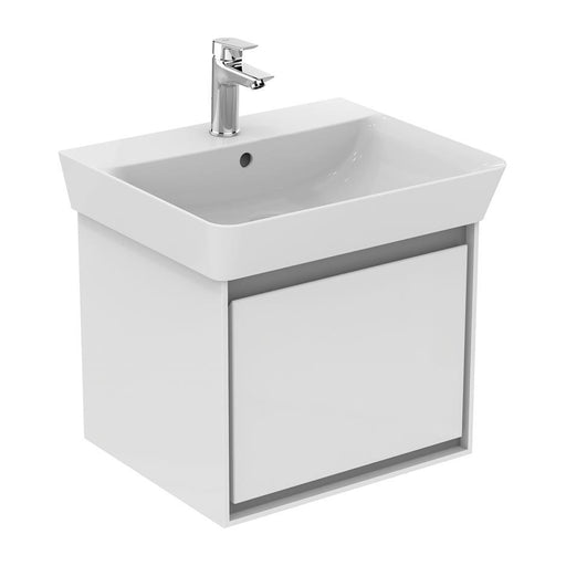 Ideal Standard Concept Air 550mm Cube WH Basin unit 1 drawer - Unbeatable Bathrooms