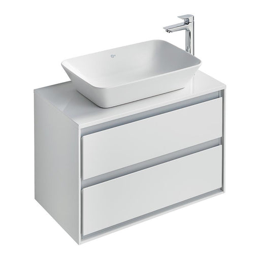Ideal Standard Concept Air 80Cm Wall Hung Vanity Unit with 2 Drawers - Unbeatable Bathrooms