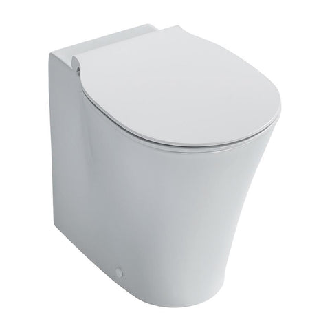 Ideal Standard Concept Air Back to Wall WC Pan with Aquablade Technology and horizontal outlet - Unbeatable Bathrooms