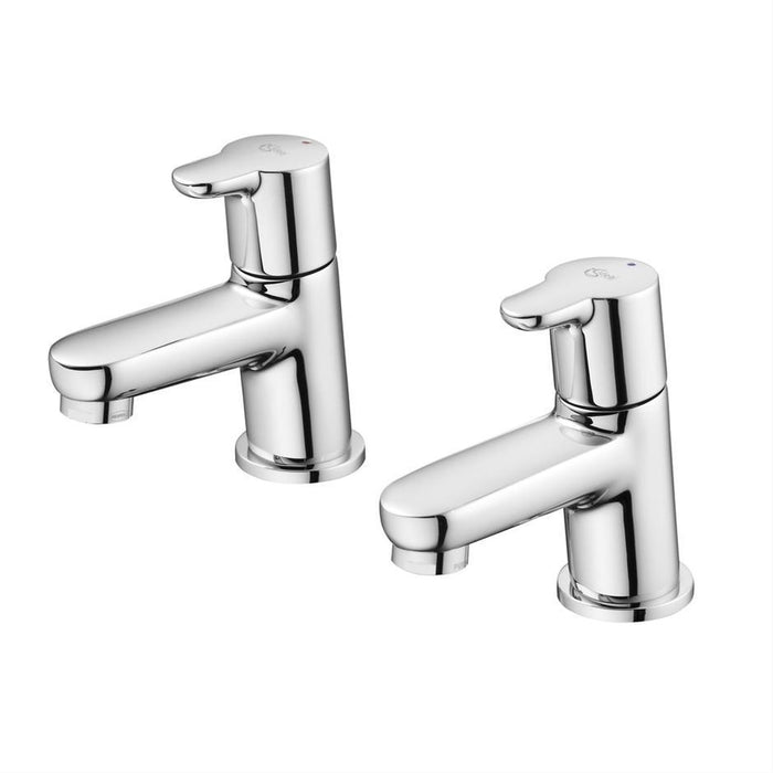 Ideal Standard Concept basin pillar taps - Unbeatable Bathrooms
