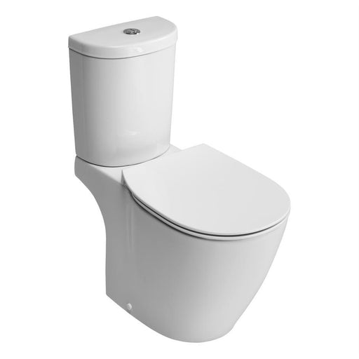 Ideal Standard Concept Close Coupled WC pan with Horizontal Outlet and Aquablade Technology - Unbeatable Bathrooms