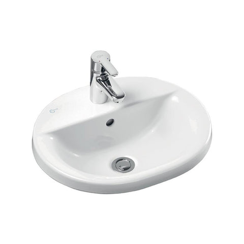 Ideal Standard Concept Oval Countertop Washbasin - Unbeatable Bathrooms