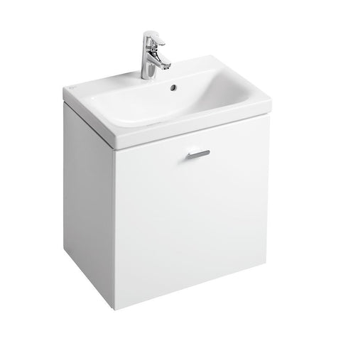 Ideal Standard Concept Space 550 X 380mm wall hung basin unit with one drawer - Unbeatable Bathrooms