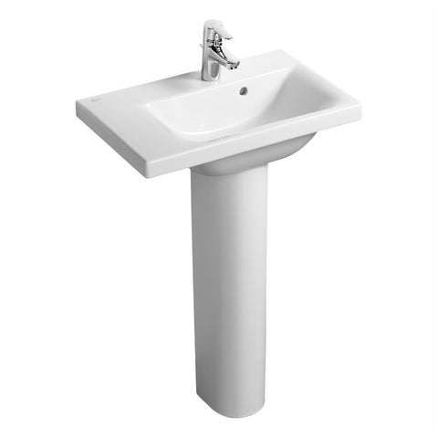 Ideal Standard Concept Space Basin Suite with 60cm Pedestal Washbasin - Unbeatable Bathrooms