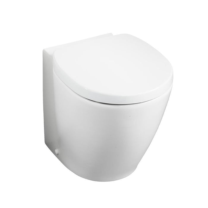 Ideal Standard Concept Space Compact Close Coupled/Back To Wall WC Suite - Unbeatable Bathrooms