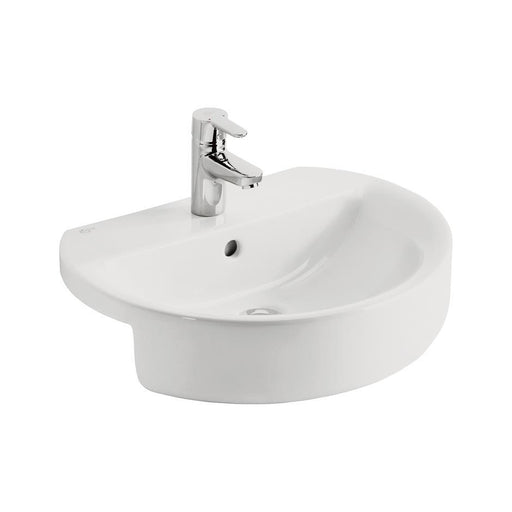 Ideal Standard Concept Sphere 55cm Semi-Countertop Washbasin - Unbeatable Bathrooms