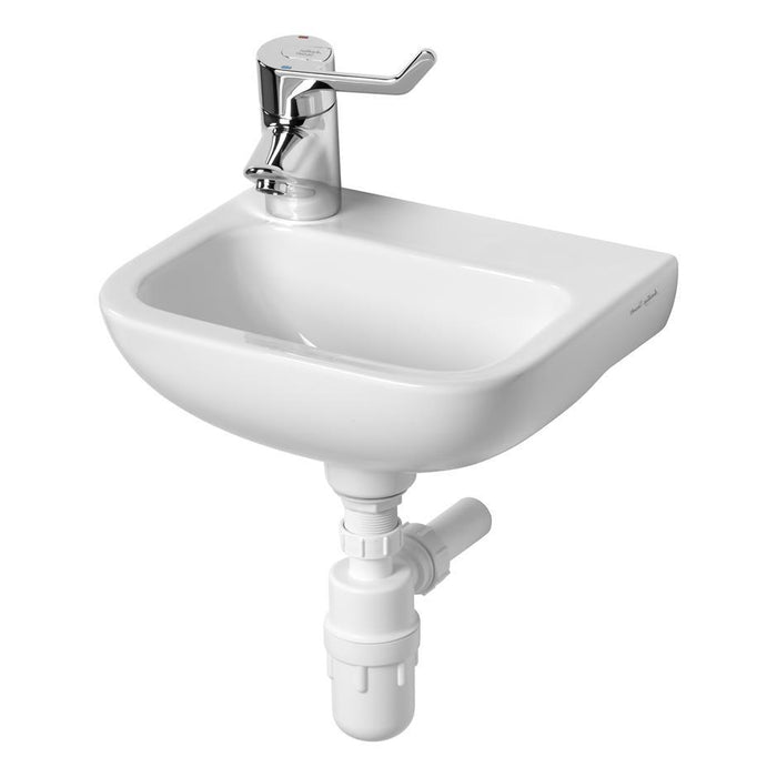 Armitage Shanks Contour 21 37cm Hand Rinse Basin No Overflow Or Chain Hole - Unbeatable Bathrooms