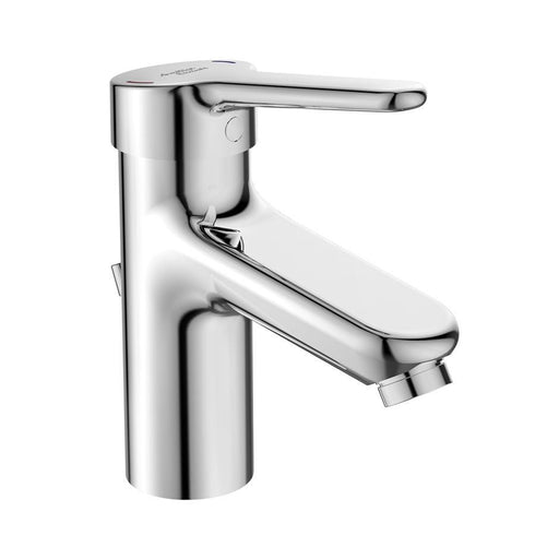 Armitage Shanks Contour 21+ Single Lever One Hole Basin Mixer with Popup Waste, Copper Tails - Unbeatable Bathrooms