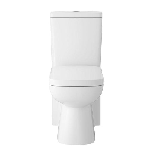 Hudson Reed Arlo Flush To Wall Pan, Cistern & Seat - Unbeatable Bathrooms