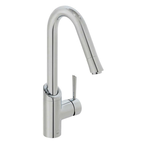 Vado Kori Deck Mounted Mono Sink Mixer with Swivel Spout - Unbeatable Bathrooms