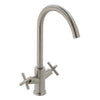 Vado Elements Steel Deck Mounted Mono Sink Mixer - Unbeatable Bathrooms