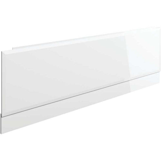 Bathrooms To Love Volta 1700mm Front Panel - White Gloss - Unbeatable Bathrooms