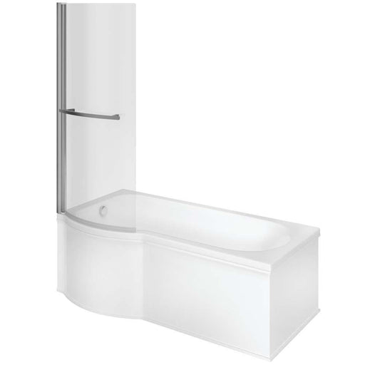 Bathrooms To Love P Shape Shower 0TH Bath 1700mm - Unbeatable Bathrooms