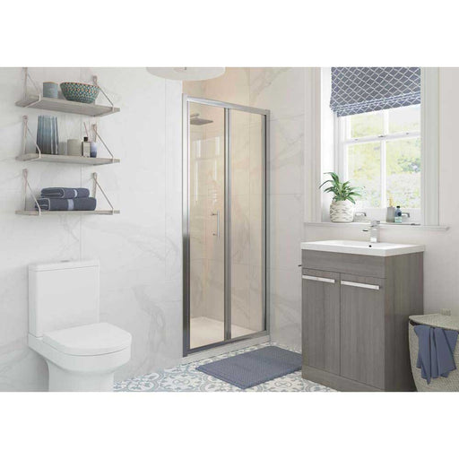 Bathrooms To Love Reflexion Classix 6mm Framed Bifold Door Shower Enclosure - Unbeatable Bathrooms