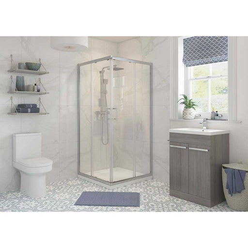 Bathrooms To Love Reflexion Classix 6mm Framed Corner Entry Shower Enclosure - Unbeatable Bathrooms