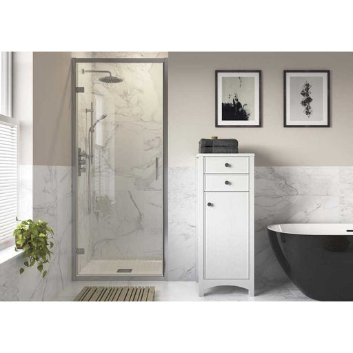 Bathrooms To Love Reflexion Iconix Framed Hinge Door Shower Enclosure - Unbeatable Bathrooms