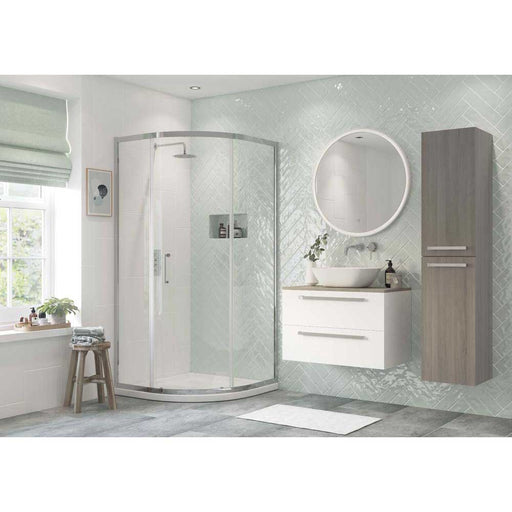 Bathrooms To Love Reflexion Flex 6mm Frammed 1 Door Quadrant Shower Enclosure - Unbeatable Bathrooms